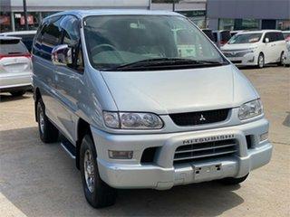 2005 Mitsubishi Delica PD6W Spacegear Chamonix Silver Automatic Van Wagon.
