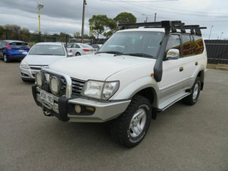 2001 Toyota Landcruiser Prado KZJ95R GXL (4x4) White 4 Speed Automatic 4x4 Wagon.