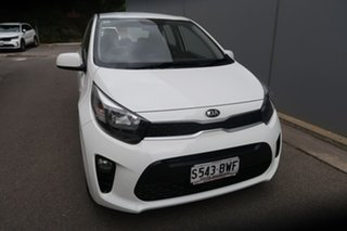 2018 Kia Picanto JA MY19 S White 5 Speed Manual Hatchback.