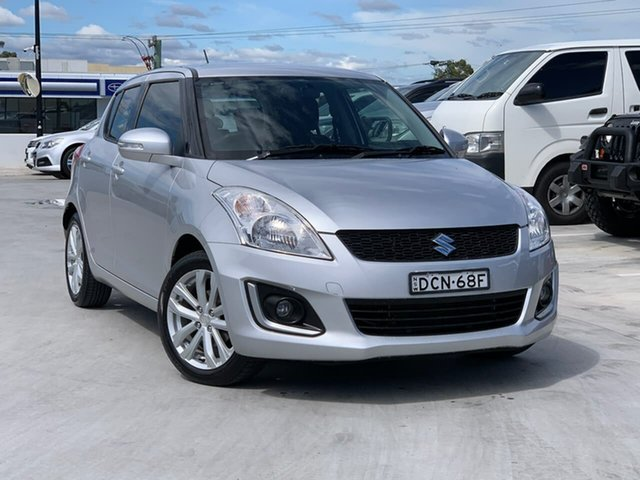 Used Suzuki Swift FZ MY15 GL Navigator Liverpool, 2015 Suzuki Swift FZ MY15 GL Navigator Silver 4 Speed Automatic Hatchback
