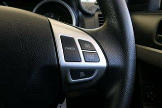 2010 Mitsubishi Lancer CJ MY11 ES Silver 6 Speed Constant Variable Sedan