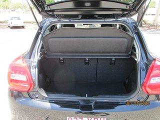 2018 Suzuki Swift AZ GL Navigator Super Black 1 Speed Constant Variable Hatchback