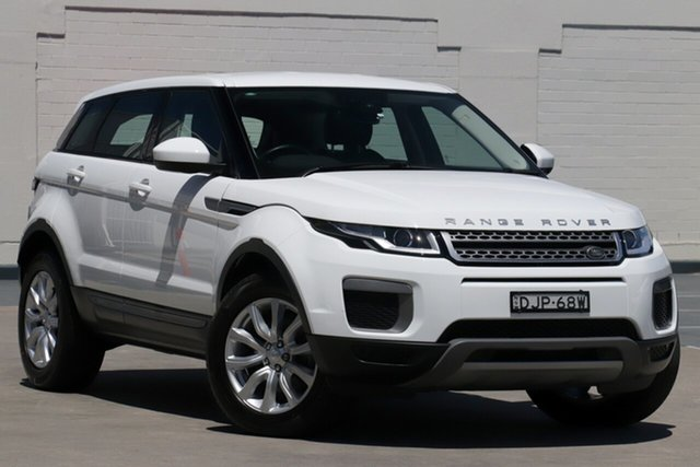 Used Land Rover Range Rover Evoque L538 MY16.5 Pure Brookvale, 2016 Land Rover Range Rover Evoque L538 MY16.5 Pure White 9 Speed Sports Automatic Wagon