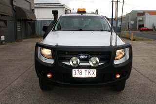 2013 Ford Ranger PX XL 3.2 (4x4) White 6 Speed Manual Dual Cab Utility.