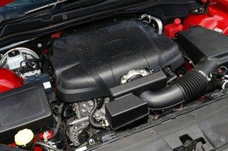 2017 Holden Commodore VF II MY17 SV6 Red 6 Speed Automatic Sedan