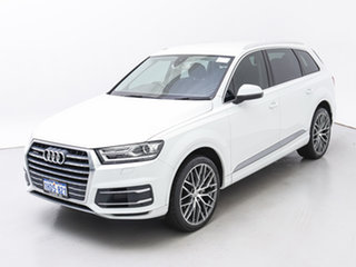 2015 Audi Q7 4M 3.0 TDI Quattro White 8 Speed Automatic Tiptronic Wagon