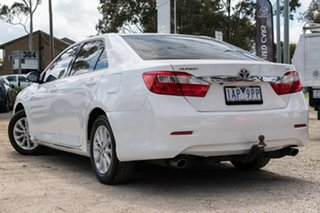 2013 Toyota Aurion GSV50R AT-X Diamond White 6 Speed Sports Automatic Sedan.