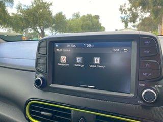 2019 Hyundai Kona OS.3 MY20 Elite 2WD Acid Yellow 6 Speed Sports Automatic Wagon