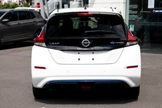 2020 Nissan Leaf ZE1 Arctic White 1 Speed Reduction Gear Hatchback.