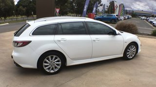 2011 Mazda 6 GH1052 MY10 Classic Crystal White Pearl 5 Speed Sports Automatic Wagon