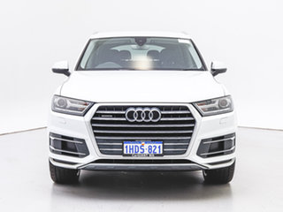 2015 Audi Q7 4M 3.0 TDI Quattro White 8 Speed Automatic Tiptronic Wagon.