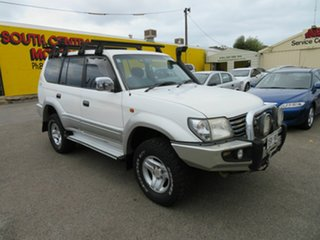 2001 Toyota Landcruiser Prado KZJ95R GXL (4x4) White 4 Speed Automatic 4x4 Wagon