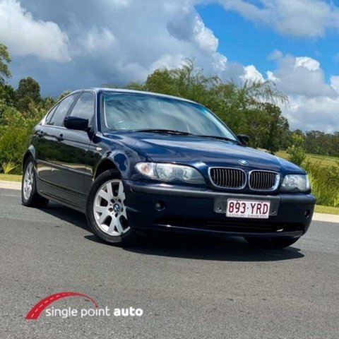 Used BMW 3 Series E46 MY2002 325i Steptronic Chevallum, 2001 BMW 3 Series E46 MY2002 325i Steptronic Blue 5 Speed Sports Automatic Sedan