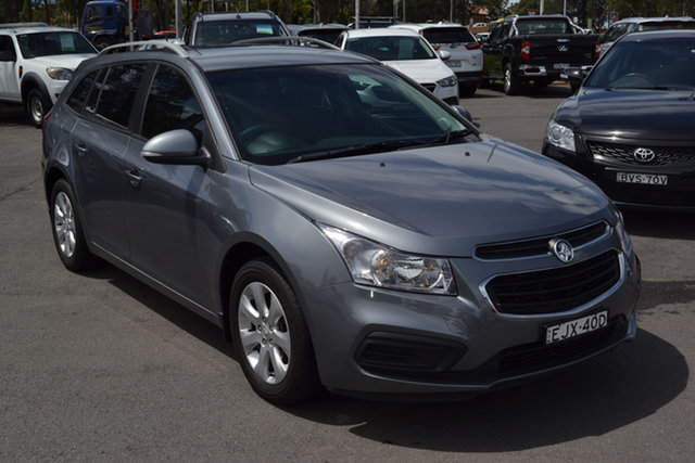 Used Holden Cruze JH Series II MY16 CD Sportwagon Maitland, 2016 Holden Cruze JH Series II MY16 CD Sportwagon Grey 6 Speed Sports Automatic Wagon