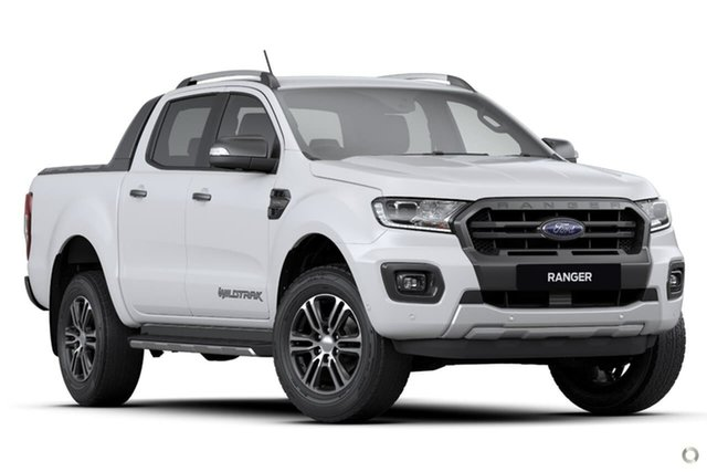 Demo Ford Ranger PX MkIII 2020.75MY Wildtrak Ferntree Gully, 2020 Ford Ranger PX MkIII 2020.75MY Wildtrak White 10 Speed Sports Automatic Double Cab Pick Up