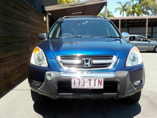 2002 Honda CR-V RD MY2002 Sport 4WD Blue 4 Speed Automatic Wagon