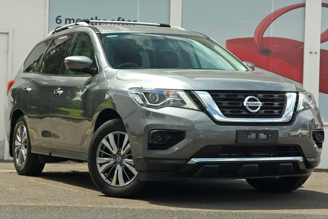 Pre-Owned Nissan Pathfinder R52 Series II MY17 ST X-tronic 2WD Ferntree Gully, 2018 Nissan Pathfinder R52 Series II MY17 ST X-tronic 2WD Grey Metallic 1 Speed Constant Variable