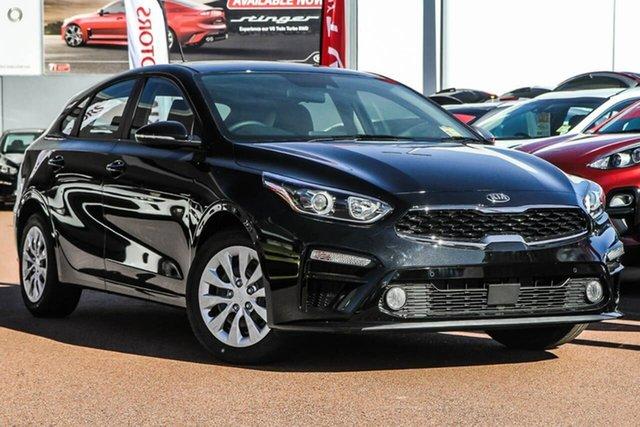 New Kia Cerato BD MY20 S Reynella, 2020 Kia Cerato BD MY20 S Black 6 Speed Sports Automatic Hatchback