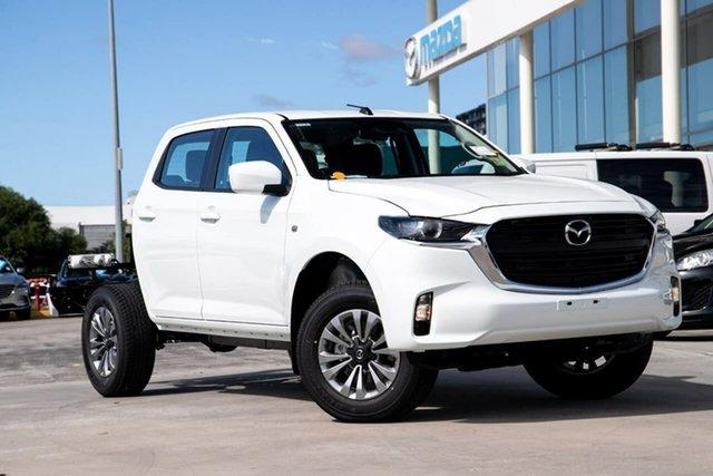 New Mazda BT-50 Kirrawee, BT-50 B XT 3.0 TDsl Auto4x4 D-C/Chas