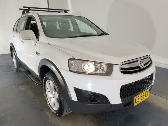 Used Holden Captiva CG Series II MY12 7 SX, 2013 Holden Captiva CG Series II MY12 7 SX White 6 Speed Sports Automatic Wagon