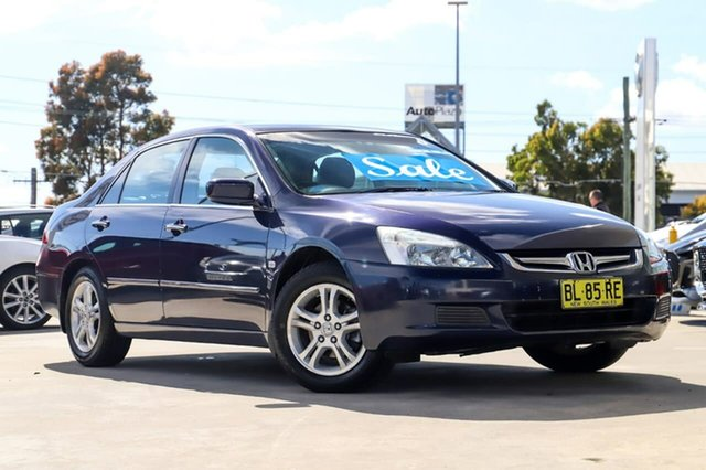 Used Honda Accord 7th Gen MY07 VTi Kirrawee, 2007 Honda Accord 7th Gen MY07 VTi Black 5 Speed Automatic Sedan