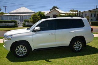 2016 Toyota Landcruiser VDJ200R MY16 VX (4x4) White 6 Speed Automatic Wagon