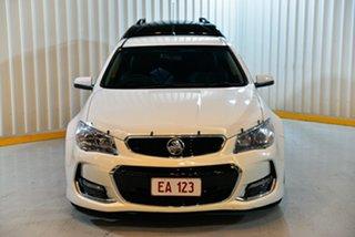 2015 Holden Ute VF II MY16 SV6 Ute White 6 Speed Manual Utility.