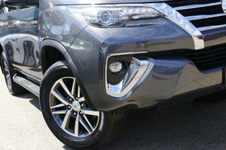 2017 Toyota Fortuner GUN156R Crusade Grey 6 Speed Automatic Wagon.
