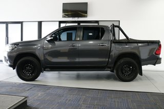 2015 Toyota Hilux GUN136R SR Double Cab 4x2 Hi-Rider Grey 6 Speed Manual Utility
