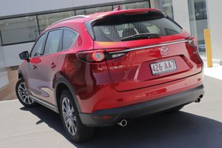 2020 Mazda CX-8 KG2W2A Asaki SKYACTIV-Drive FWD Soul Red Crystal 6 Speed Sports Automatic Wagon.