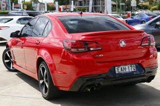 2017 Holden Commodore VF II MY17 SV6 Red 6 Speed Automatic Sedan.