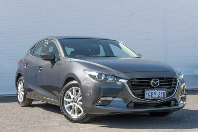 Used Mazda 3 BM5478 Maxx SKYACTIV-Drive Bunbury, 2016 Mazda 3 BM5478 Maxx SKYACTIV-Drive Grey 6 Speed Sports Automatic Hatchback