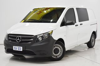 2016 Mercedes-Benz Vito 447 114BlueTEC SWB 7G-Tronic + White 7 Speed Sports Automatic Van.
