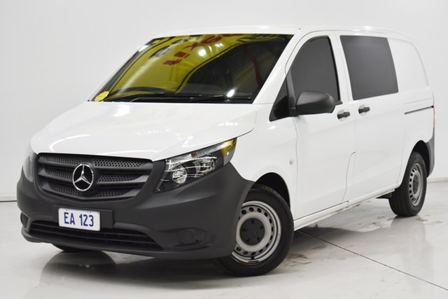 Used Mercedes-Benz Vito 447 114BlueTEC SWB 7G-Tronic + Brooklyn, 2016 Mercedes-Benz Vito 447 114BlueTEC SWB 7G-Tronic + White 7 Speed Sports Automatic Van