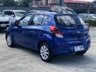 2014 Hyundai i20 PB MY15 Elite Blue 4 Speed Automatic Hatchback.