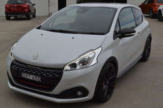 2018 Peugeot 208 A9 MY18 GTi Edition Definitive White 6 Speed Manual Hatchback