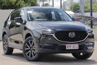 2019 Mazda CX-5 KF4WLA GT SKYACTIV-Drive i-ACTIV AWD Black 6 Speed Sports Automatic Wagon.