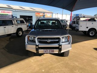 2010 Holden Colorado RC MY10 LX (4x4) Silver 5 Speed Manual Cab Chassis
