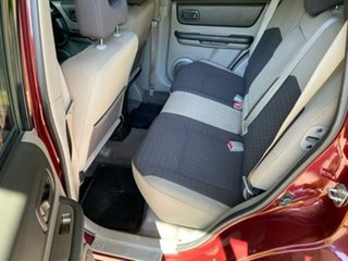 2005 Nissan X-Trail T30 II ST Red 4 Speed Automatic Wagon