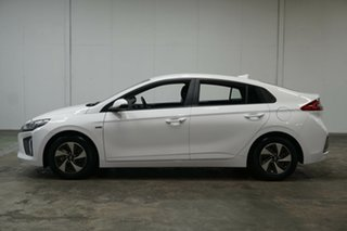 2018 Hyundai Ioniq AE.2 MY19 hybrid DCT Elite White 6 Speed Sports Automatic Dual Clutch Fastback