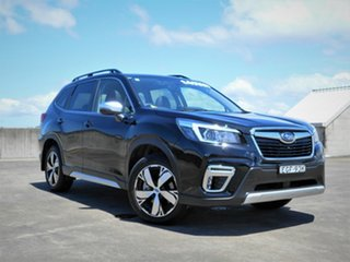 2019 Subaru Forester S5 MY19 2.5i-S CVT AWD Black 7 Speed Constant Variable Wagon.