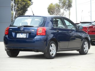 2005 Toyota Corolla ZZE122R 5Y Ascent Blue 5 Speed Manual Hatchback