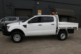 2013 Ford Ranger PX XL 3.2 (4x4) White 6 Speed Manual Dual Cab Utility