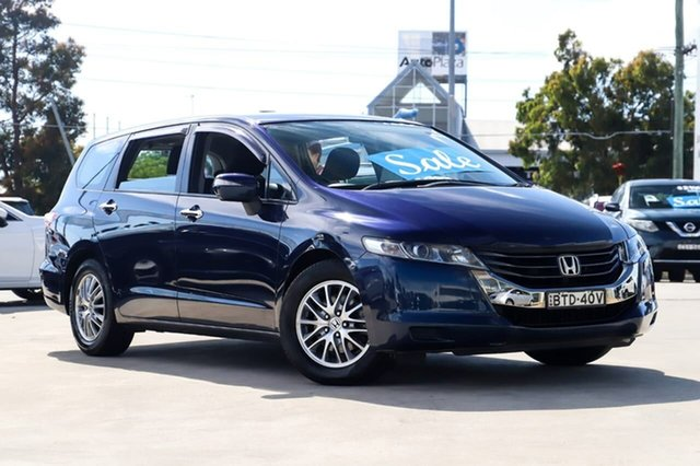 Used Honda Odyssey 4th Gen MY10 Kirrawee, 2010 Honda Odyssey 4th Gen MY10 Blue 5 Speed Sports Automatic Wagon