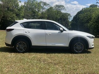 2017 Mazda CX-5 MY17.5 (KF Series 2) Maxx Sport (4x4) White 6 Speed Automatic Wagon.