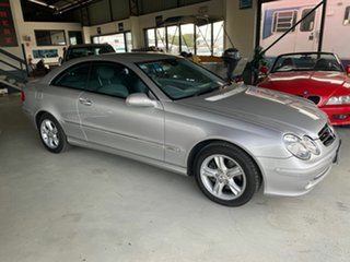 2003 Mercedes-Benz CLK320 C209 Avantgarde Silver 5 Speed Auto Touchshift Coupe