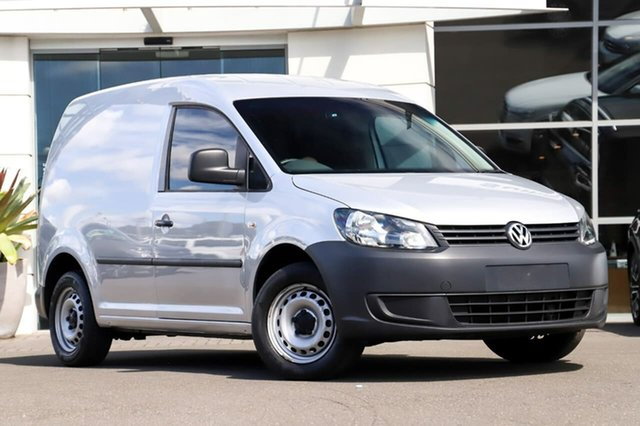 Used Volkswagen Caddy 2KN MY14 TDI250 SWB DSG Sutherland, 2014 Volkswagen Caddy 2KN MY14 TDI250 SWB DSG Silver 7 Speed Sports Automatic Dual Clutch Van