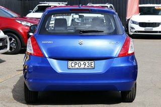 2013 Suzuki Swift FZ GL Blue 5 Speed Manual Hatchback