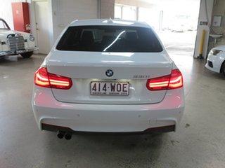2016 BMW 3 Series F30 LCI 330i M Sport White 8 Speed Sports Automatic Sedan