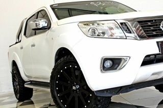 2015 Nissan Navara NP300 D23 ST (4x2) White 6 Speed Manual Dual Cab Utility